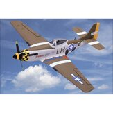 NiceSky P-51 Mustang RC Airplane EPS 680mm Wingspan Aircraft Warbird Plane PNP