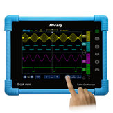 Micsig TO1104 Tablet digitale 100MHz oscilloscopio 4CH 28Mpts 1GSa / s oscilloscopio Touch screen diagnostico automobilistico con 8 pollici TFT LCD