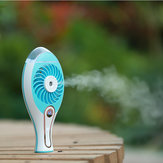 Rechargeable USB Fan Spray Humidifier Portable Air Condition Cool Fan For Home Comfort