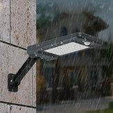 60 LED Uzakdan Kumanda Solar PIR Hareketli Sensör Sokak Lambası Su Geçirmez Outdoor Bahçe Duvar Lamba 3 Aydınlatma Modu
