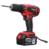 18V Rechargeable Cordless Power Impact Drills Electric Drill One/Two Battery with 28Pcs Accessories