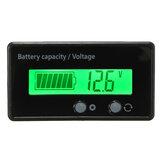 12V 6-63V LCD Säureleitung Lithium Batterie Kapazitätsanzeige Digital Voltmeter