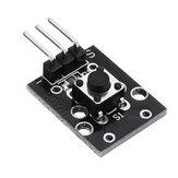 3pcs KY-004 Módulo de llave de interruptor electrónico AVR PIC MEGA2560 Breadboard Geekcreit para Arduino - productos que funcionan con placas oficiales Arduino