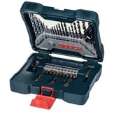 Bosch 33Pcs Metal Twist Дрель Bit Round Handle Masonry Дрель Bit Woodworking Дрель Bit Отвертка Head Mixed Set For Power Инструмент
