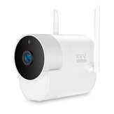 Xiaovv XVV-1120S-B1 H.265 Smart 1080P Panoramic Camera Onvif Waterproof 180 ° Outdoor IP Camera Infrared Night Vision Home Baby Monitor Outdoor High-Definition App Control Camera