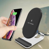 15W Qi Wireless Charger Fast Charging Stand Dock For Smartphone For iphone For Samsung S8 S9 S10 Plus Note 8 9