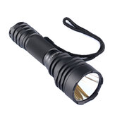 Convoy C8 + Zwart 7135 * 8 XPL HI 1100LM LED Tactical Flashlight-geheugenfunctie