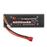 JLB Racing 11.1V 4000mAh 30C 3S Lipo Battery EA1067 T Plug for 11101 21101 31101 J3 1/10 Rc Car