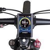 دراجة كهربائية BIKIGHT 850C عرض شاشة لـ BAFANG BBS01 / BBS02 / BBSHD دراجة بمحرك متوسط الحجم Ebike كمبيوتر