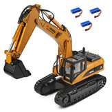 Wltoys 16800 Several Battery RTR 1/16 2.4G 8CH RC Excavator Engineering Vehicle Lighting Sound Model