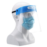 Masque facial Bouclier de protection Réutilisable Transparent Jetable Safety Full Face Isolation Shield