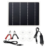 10W Portable Solar Power Panel Monocrystalline Silicon Solar Bank for Solar Energy Power Charger Kit