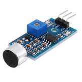 5Pcs Microphone Sound Sensor Module Voice Sensor High Sensitivity Sound Detection Module Whistle Module Geekcreit for Arduino - products that work with official Arduino boards