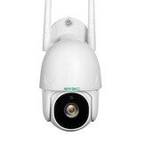 SV3C 1080P WIFI الأمن الخارجي الة تصوير Pan Tilt اتجاهين صوت للرؤية الليلية اكتشاف الإنسان ONVIF الة تصوير128GB SD بطاقة التحكم عن بعد Cam Home IP الة تصوير EU Plug