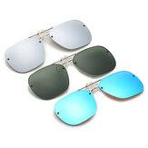 BIKIGHT Polarize Klipsli Güneş Gözlüğü Gece Görüş Gözlüğü UV Koruma Outdoor Seyahat Sürüşü Gözlükler Klipsli