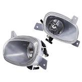 Feux de brouillard de pare-chocs avant de voiture lentille claire sans paire d'ampoules pour Volvo S80 1999-2006