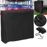 Black Table Tennis Protector 160cm Waterproof Dustproof Ping Pong Table Storage Cover