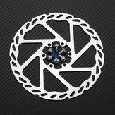RAMBOMILR5160mm/140mmLiga De Alumínio Da Bicicleta Ciclismo Disco De Freio Mecânico Travagem Com Parafusos MTB