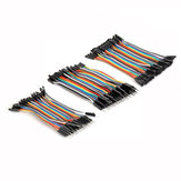Geekcreit 3 IN 1 120pcs 10cm Male To Female Female To Female Male To Male Jumper Kabel Untuk
