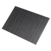 250x420x(0.5-5)mm 3K Black Twill Weave Carbon Fiber Plate Sheet Glossy Carbon Fiber Board Panel High Composite RC Material