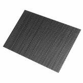 250x420x (0,5-5) мм 3K Черное саржевое переплетение Углеродное волокно Пластина Лист Глянцевая панель из углеродного волокна Высокопрочный компо