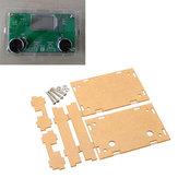 5Pcs hoja de acrílico transparente Vivienda Caso para DSP y PLL Digital Stereo FM Radio Receptor Módulo