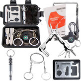 Outdoor Sports SOS Emergency Survival Equipment Kit Set Tactical Hunting Tool For Outdoor Camping Adventure
