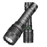 XANES® 1479A XM-L2 500LM Tactical Flashlight Outside Lights 3 Modes Zoomable Water Resistant USB Rechargeable for Camping Hunting Fishing