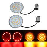 1157 LED Insert de clignotant pour Harley-Davidson pour Dyna pour Softail pour Sportster Road Glid