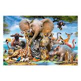 1000 piezas rompecabezas juguetes animales plantas descompresión rompecabezas para adultos niños juguetes educativos