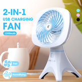 Portable Mini Rechargeable USB Adjustable Cooling Humidifier