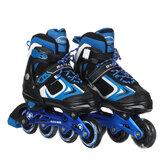 Enfants patins à roues alignées taille réglable Rollerblades adolescents chaussures de skate patins à roulettes pour garçons filles