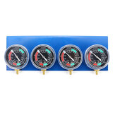 4x Motorcycle Carburetor Carb Fuel Vacuum 2/4 Cylinder Gauge Balancer Synchronizer Diagnostic Tool