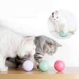 Kattenspeelgoed USB Kat Laserspeelgoed Dierbenodigdheden LED Flash Rollende bal Kattenspeelgoed Gloeiende bal voor Pet Cat Toy