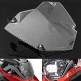 Front Headlight Guard Clear Cover Lens Protector para BMW R1200GS ADV WC 13-17