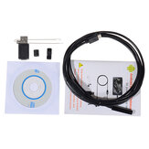 7mm 2 Meters Endoscope for Android Windows IP67 Waterproof USB Inspection Camera Vehicle Borescope