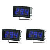 3Pcs 0.56 Inch Mini Digital LCD Temperatura conveniente interior Sensor Medidor Monitor Termómetro con 1M Cable -50-120 ℃ DC 5-12V