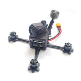 17g URUAV FORCE HD3 118mm 3 Inch Palillo de dientes FPV Kit de cuadro Racing con Nylon SLS impreso Capony compatible DJI Caddx Nebula Vista
