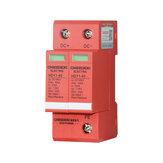 CHSZDEXI 2P20KA DC 1000V Electric Surge Protector Circuit Breaker