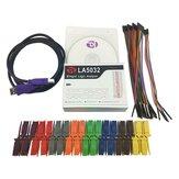 Kingst LA5032 USB Logic Analyzer 500M max sample rate, 32 Kanalen, 10B monsters, MCU, ARM, FPGA debug tool, Engels software