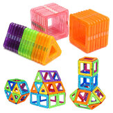 32PCS Magnetic Blocks Magnet Tiles Kit Building Play Toy Boys Girls Kids Gift