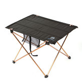 Outdoor Folding Picnic Table Desk BBQ Barbecue Tea Gate-Leg Table Aluminum Alloy Camping Hiking