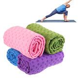 183x63cm Fitness Yoga Mats Non-slip Super Soft Pilates Towel Blanket