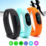 Impermeabile Bluetooth 4.0 Smart bracciale orologio del monitor contapassi sonno braccialetto di fitness inseguitore