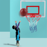 Hanging Basketball Hanging Door Wall-Mountable Spikeable Transparent Basketball Board Toys