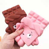 Squishy Chocolate Bar Langsomt stigende 13cm Jumbo Cute Kawaii Collection Decor Gave Toy