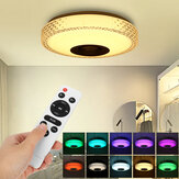 72W RGB Music LED Smart Deckenleuchte Dimmbare Lampe Bluetooth APP Control