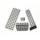 4PCS Steel Gas Brake Foot Pedals Kit For Mercedes-Benz W203 W204 W210 W211 W212 C E