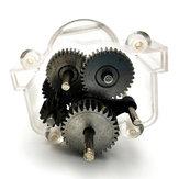 URUAV WPL 1 Takım Hız Değişimi Dişli Için Kutu B1 Orijinal Metal Dişliler B24 B16 B36 C24 1/16 4WD 6WD Rc