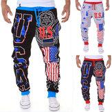 Men's Fashion Lace-Up Sports Jogger Pants